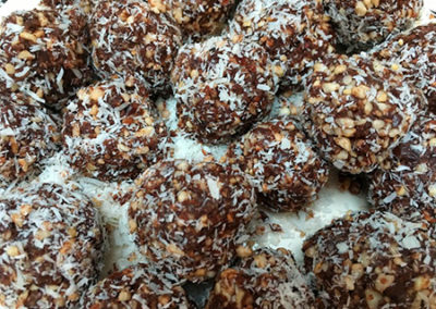 Go (Coco) Nuts for Energy Balls