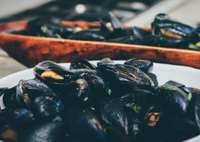 Moules Thaï au Curry Rouge